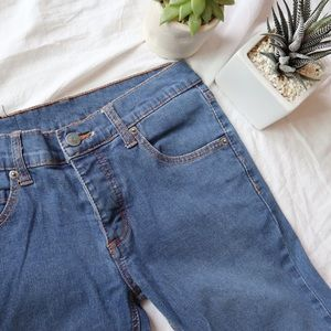 CHEAP MONDAY Narrow Straight Washed Skinny Jeans